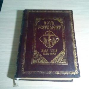 NOUL TESTAMENT * Alba-Iulia 1648-1988 - Episcopia Ortodoxa, 1988, 907 p.