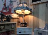 Veioza Vintage cu sertar,din lemn Ideal Gift
