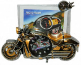 Ceas Motocicleta 3D cu Rama Foto Ideal Gift