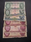 Lot  6  buc.   forint   DIFERITE   Ungaria   1962 - 1989
