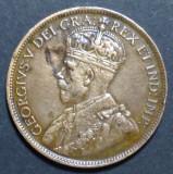 Canada 1 cent 1917, America de Nord