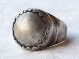 INEL argint BEDUIN tribal MASIV de efect OPULENT splendid VECHI de colectie RAR