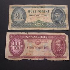 Lot   2 buc.   forint   DIFERITE   Ungaria   1980 - 1984, Europa
