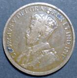 Canada 1 cent 1913, America de Nord