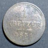 Austria 1 kreuzer 1851 B, Europa