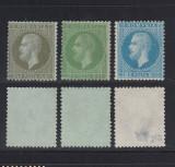 CAROL I PARIS 1872 - 1,5 BANI , 3 BANI SI 10 BANI NECIRCULATE, Nestampilat