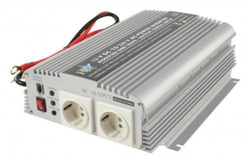 Invertor de tensiune 12V-230V,1000W,HQ