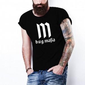 Tricou 20 CM RECORDS PARAZITII bug Mafia, personalizat HIP-HOP, RAP