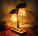 Veioza din lemn Artizanat Ideal Gift