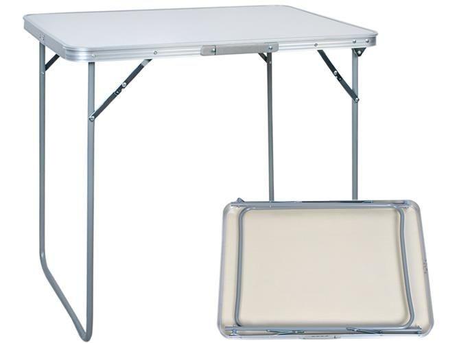 Masuta Pliabila din Aluminiu pentru Camping sau Picnic, Dimensiuni 80x60x70cm foto mare