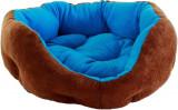 Pat estetic si confortabil cu perna de 33x38cm pentru animale de companie caine si pisica
