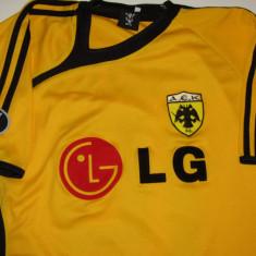 Tricou fotbal - AEK ATENA (nr. 10 RIVALDO), S, Din imagine, De club