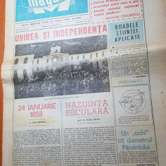 ziarul magazin 22 ianuarie 1977-hora unirii la craiova-unirea si independenta
