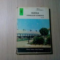 IGIENA ANIMALELOR DOMESTICE - Tricu I., N. Coltofeanu -  Ceres, 1972, 182 p.