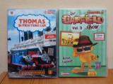 Garfield show  vol 3 (sezonul 2)  si Thomas si prietenii lui vol. 5, DVD dublate, Romana
