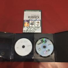 Colectie 3 DVD Stanley Kubrick - romana + BONUS 2 dvd-uri (cu romana) , NOI