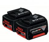 Set Bosch 2 acumulatori Li-ion 14,4 V 4,0 Ah Expert Tools