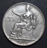 Italia 1 lira 1923, Europa