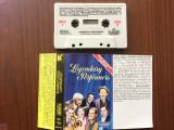 Various legendary performers compilatie caseta audio muzica pop jazz USA 1986, Casete audio, rca records