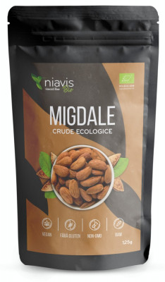 Migdale crude Ecologice/Bio 125g - NVS-NIA61 Pure Sensation foto