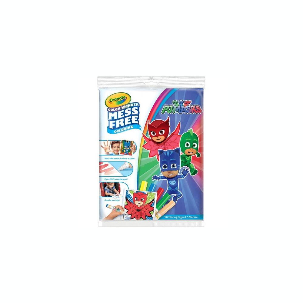Set Carte De Colorat Cu Carioci Eroii In Pijama Arhiva