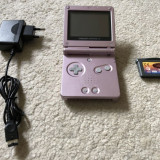 Consola Nintendo GameBoy Advance Sp+joc Disney Treasure Planet( GAMEBOY ), Game Boy Advanced