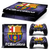 Skin / Sticker FCB Barcelona Playstation 4 PS4 FAT // PRO + 2 Skin +BONUS, Huse si skin-uri
