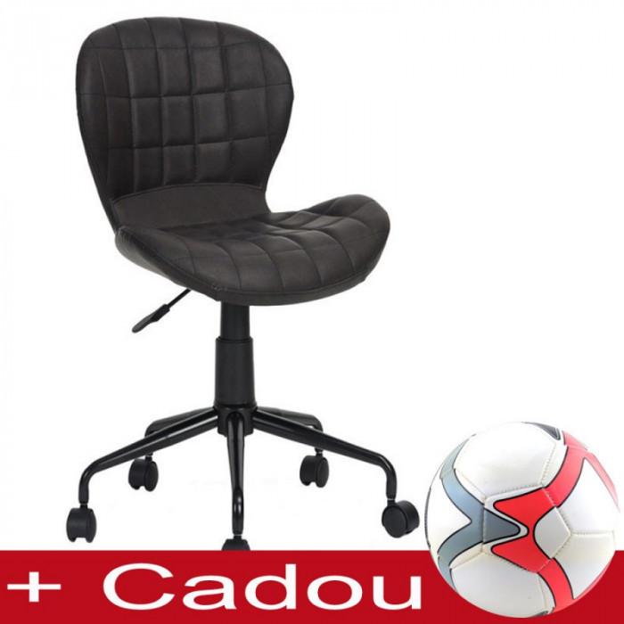 Scaun birou SL Scot negru Modern Style
