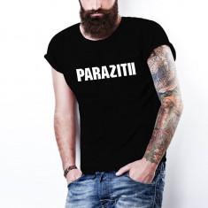 Tricou PARAZITII bug Mafia  20 CM RECORDS, personalizat HIP-HOP, RAP, L, M, S, XL, XXL, Alb, Negru, Bumbac