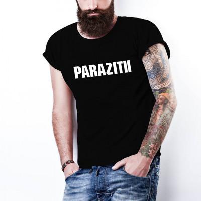 Tricou PARAZITII bug Mafia  20 CM RECORDS, personalizat HIP-HOP, RAP foto