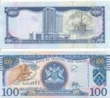 !!! TRINIDAD-TOBAGO - 100 DOLARI 2006 (2017) - P 51 c - UNC / SEMNATURA NOUA