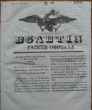 Ziarul Buletin , gazeta oficiala a Principatului Valahiei , nr. 17 , 1839