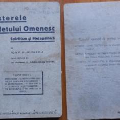 Buricescu , Misterele sufletului omenesc , spiritism si metapsihica , 1934, Trei