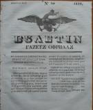Ziarul Buletin , gazeta oficiala a Principatului Valahiei , nr. 30 , 1839