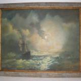 VAPOR IN LARG ULEI PE PINZA SEMNAT, Marine, Altul