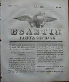 Ziarul Buletin , gazeta oficiala a Principatului Valahiei , nr. 40 , 1841