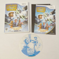 Joc Nintendo Wii - Star Wars The Clone Wars Lightsaber Duels, Sporturi, Toate varstele, Single player