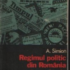 REGIMUL POLITIC DIN ROMANIA IN PERIOADA SEPT.1940/IAN.1941 DE A. SIMION