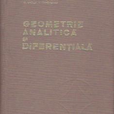 ELENA MURGULESCU - GEOMETRIE ANALITICA SI DIFERENTIALA