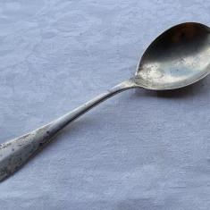 LINGURA argint MARE si MASIVA marcaje multiple VECHI splendida JOHANSEN rara