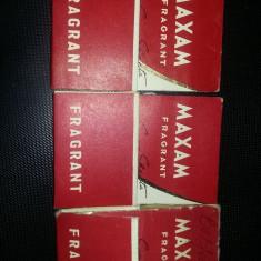 3 carnete vintage cu foite de sapun chinezesc MAXAM,amintiri Epoca de Aur,T.GRAT