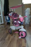 Tricicleta pentru copii SmarTrike  4 IN 1, Fata, Roz