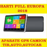 "GPS  Navigatie  HD 7"" GPS AUTO GPS TIR GPS CAMION GPS HARTI FULL EUROPA 2018, Toata Europa, Lifetime"