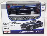 Maisto1:24-Linie de Asamblare-Mercedes Benz SLS AMG Roadster, Maisto