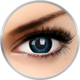 Starburst Blue - lentile de contact colorate albastre trimestriale - 90 purtari (2 lentile/cutie)