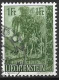 Liechtenstein 1957, Stampilat