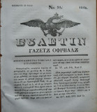 Ziarul Buletin , gazeta oficiala a Principatului Valahiei , nr. 31 , 1841