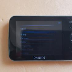 MP3 Player Philips GOGear Opus 16 GB + Cablu De Date, 16GB, Negru, Display