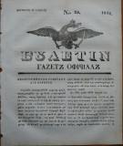 Ziarul Buletin , gazeta oficiala a Principatului Valahiei , nr. 25 , 1841