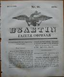 Ziarul Buletin , gazeta oficiala a Principatului Valahiei , nr. 37 , 1841